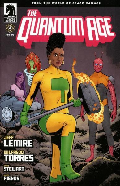 Quantum Age 4 Issue #4