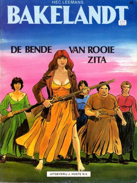 Bakelandt 32 De bende van Rooie Zita