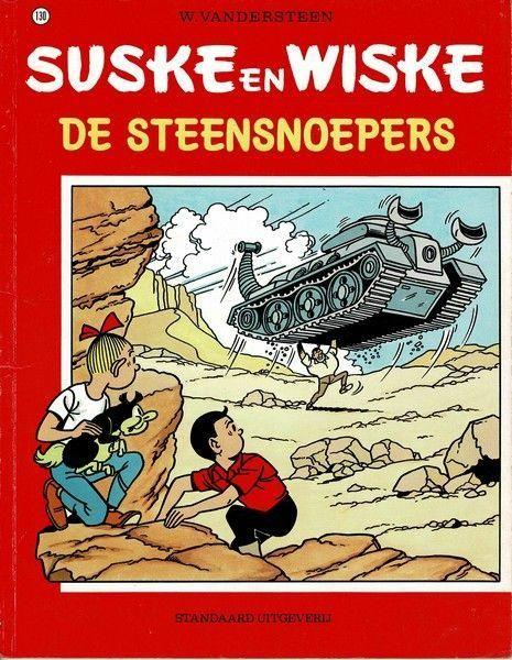 Suske en Wiske 130 De steensnoepers