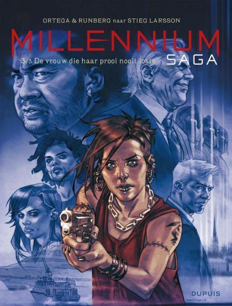 Millennium saga 3 De vrouw die haar prooi nooit loste