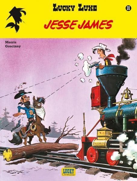 Lucky Luke (Lucky Comics, hernummering) 35 Jesse James