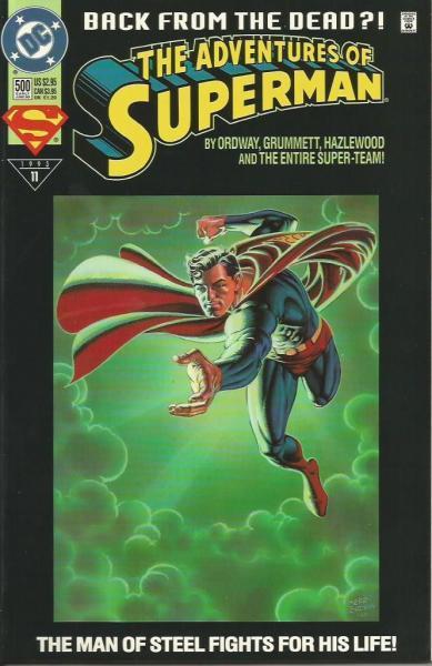 superman temp - te verplaatsen naar hoofdreeks 500 Life After Death!