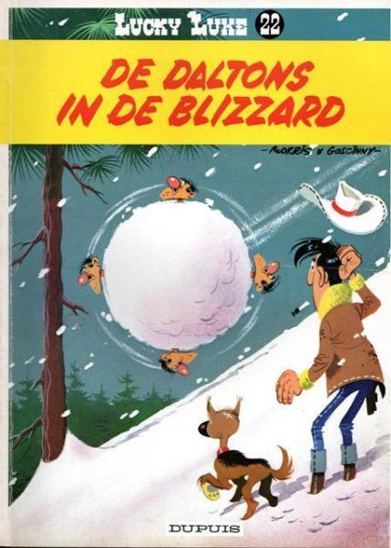 Lucky Luke (Dupuis) 22 De Daltons in de blizzard