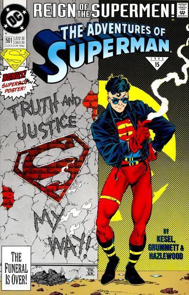 superman temp - te verplaatsen naar hoofdreeks 501 The Adventures of Superman ... When He Was a Boy!