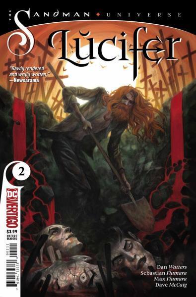 Lucifer (Vertigo) B2 Of Red Death and Ginger Tomcats
