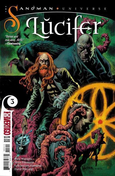 Lucifer (Vertigo) B3 The Annulment of Heaven and Hell