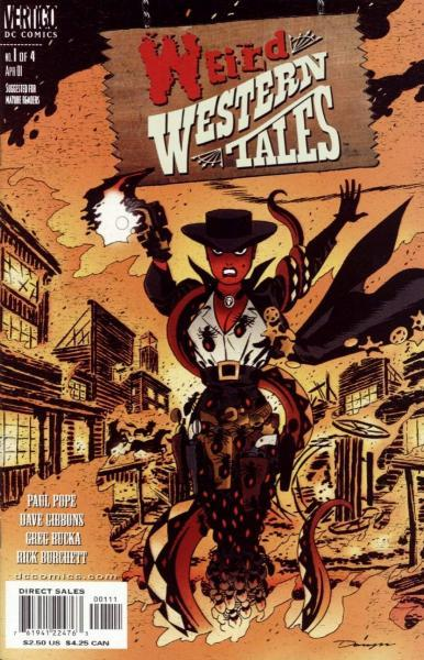 Weird Western Tales 1 Issue #1