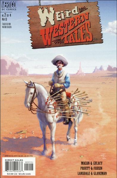 Weird Western Tales 2 Issue #2
