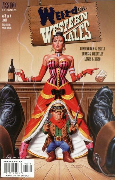 Weird Western Tales 3 Issue #3
