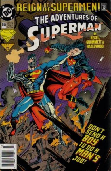 superman temp - te verplaatsen naar hoofdreeks 503 Line of Fire!