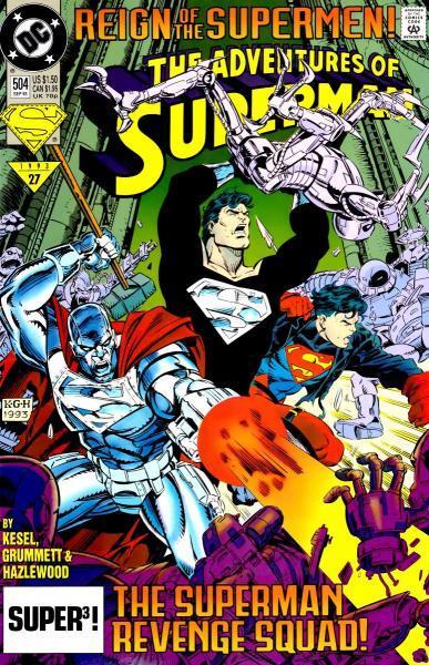 superman temp - te verplaatsen naar hoofdreeks 504 Assault on Engine City
