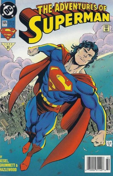 superman temp - te verplaatsen naar hoofdreeks 505 Reign of the Superman!