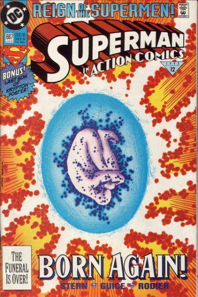 Action Comics 687 Born Again