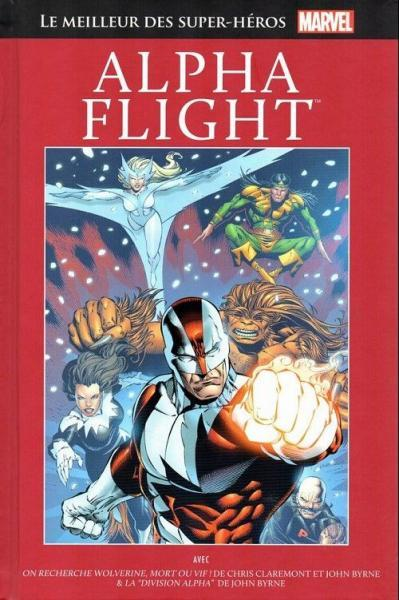 Marvel comics - Le meilleur des super-héros  (Hachette) 78 Alpha Flight