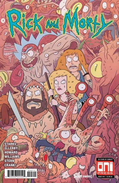 Rick and Morty 45 Issue #45