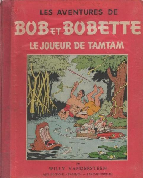 Bob et Bobette (oude Franse nummering) 10 Le joueur de tam-tam
