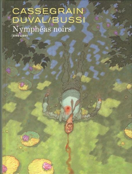 Zwarte waterlelies 1 Nymphéas noirs