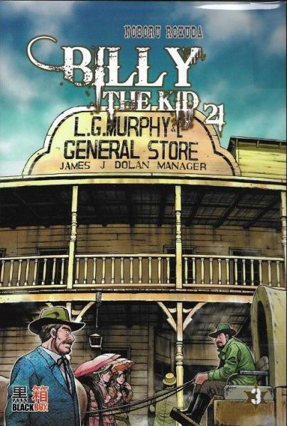 Billy the Kid (Noboru) 3 Tome 3