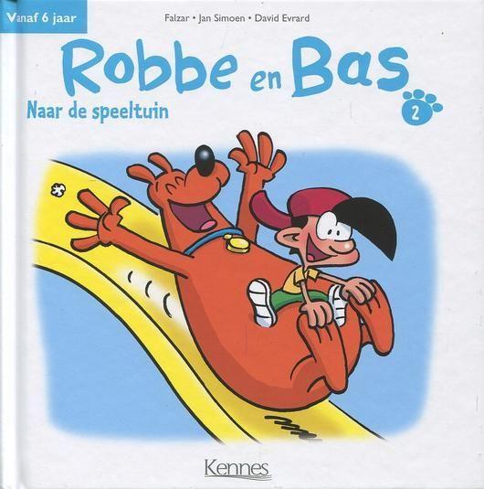 Robbe en Bas 2 Naar de speeltuin
