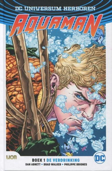 Aquaman Rebirth (Lion) 1 De verdrinking