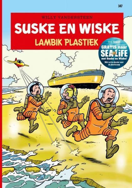 Suske en Wiske 347 Lambik plastiek