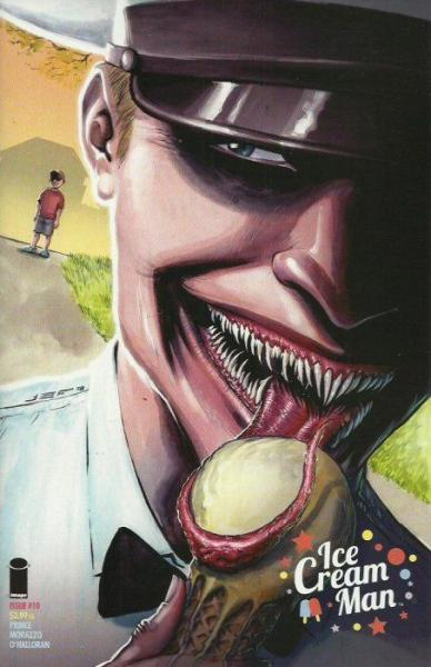 Ice Cream Man 10 Hopscotch Mélange, Part 2: Border Story