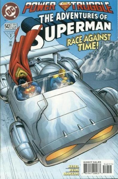 superman temp - te verplaatsen naar hoofdreeks 542 Power Trip!