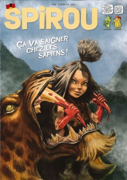 Spirou - Hebdo 2019 (82e année) 4218 Numéro 4218
