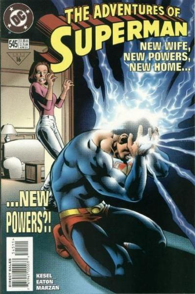 superman temp - te verplaatsen naar hoofdreeks 545 Power Crisis!