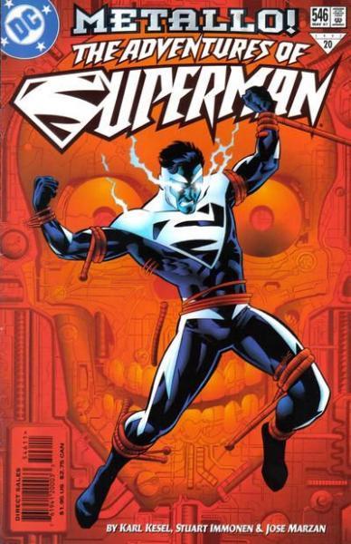 superman temp - te verplaatsen naar hoofdreeks 546 Blood & Thunder