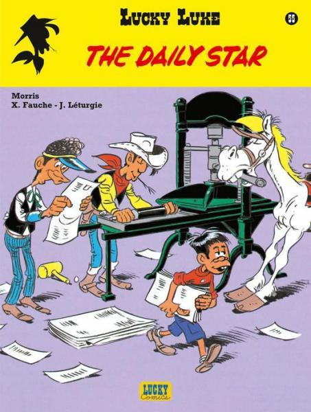 Lucky Luke (Lucky Comics, hernummering) 55 The Daily Star