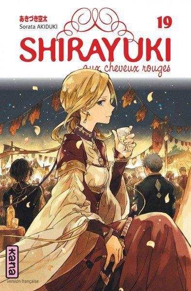 Shirayuki aux cheveux rouges 19 Tome 19