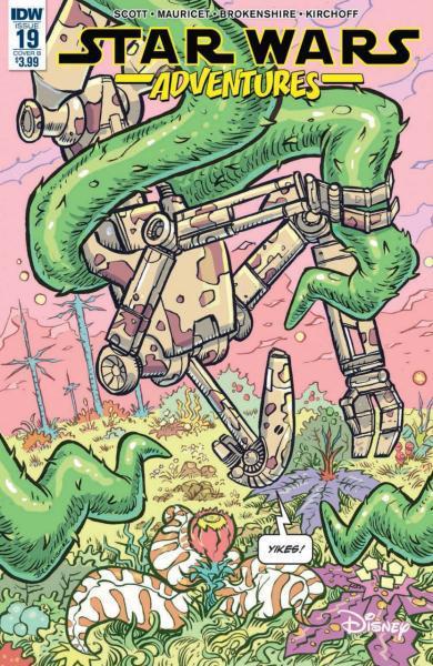Star Wars Adventures (IDW) 19 Issue #19