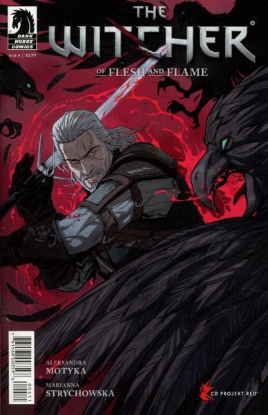Witcher: Of Flesh and Flame 4 Issue #4