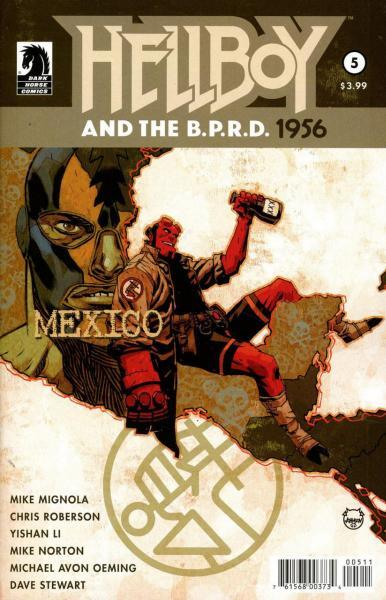Hellboy and the B.P.R.D.: 1956 5 Issue #5