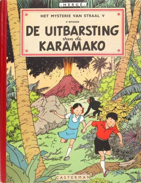 Jo, Suus en Jokko 4 De uitbarsting van de Karamako
