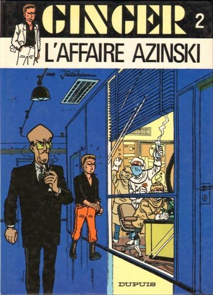 Ginger (Dupuis) 2 L'affaire Azinski