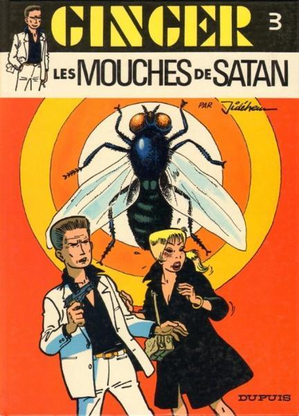 Ginger (Dupuis) 3 Les mouches de Satan