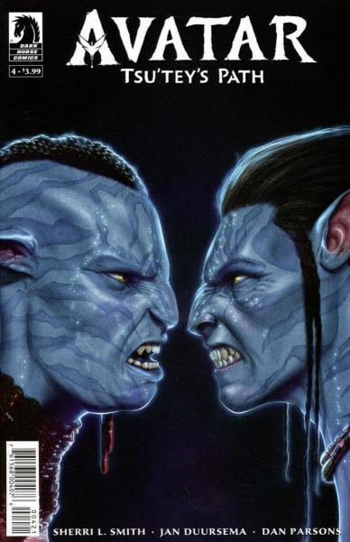 Avatar: Tsu'tey's Path 4 Issue #4