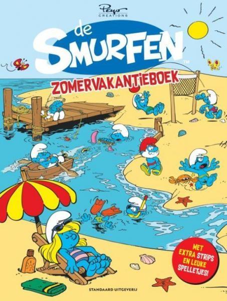De Smurfen - Vakantieboeken, winterboeken V2019 Zomervakantieboek 2019