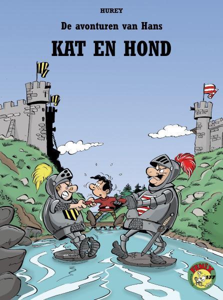 Hans (Hurey) 1 Kat en hond