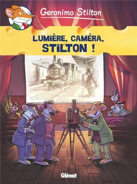 Geronimo Stilton (Glénat) 16 Lumière, caméra, Stilton!
