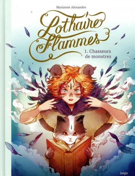 Lothaire Flammes 1 Chasseurs de monstres