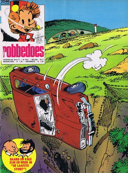 Robbedoes - Weekblad 1977 (jaargang 40) 2046 Nummer 2046