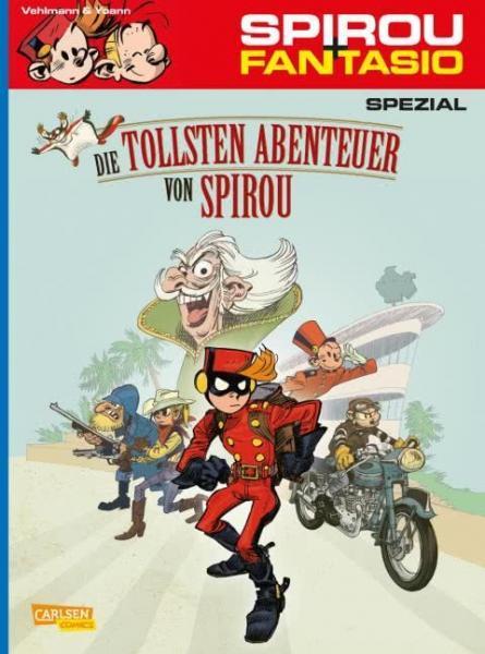 Spirou und Fantasio S24 Die tollsten Abenteuer von Spirou