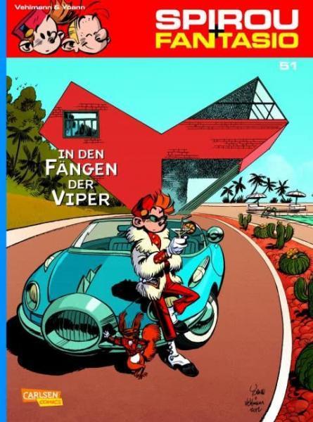 Spirou und Fantasio 51 In den Fängen der Viper