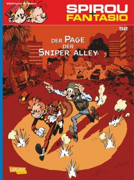 Spirou und Fantasio 52 Der Page der Sniper Alley