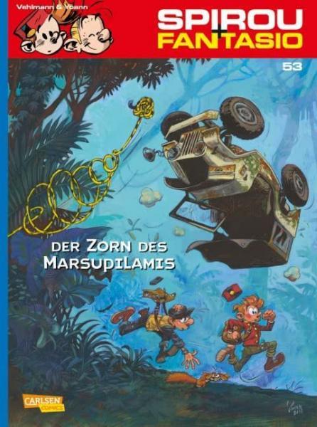 Spirou und Fantasio 53 Der Zorn des Marsupilamis