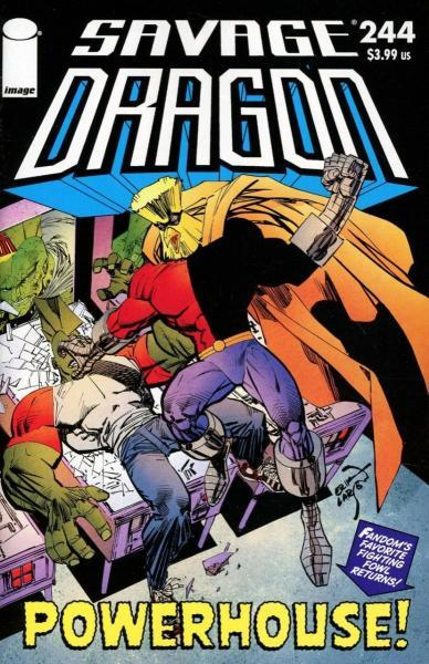 The Savage Dragon A244 Issue #244