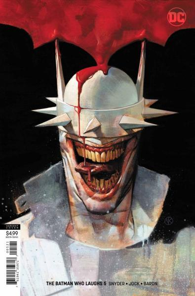 The Batman Who Laughs 5 The Laughing House, Part 5